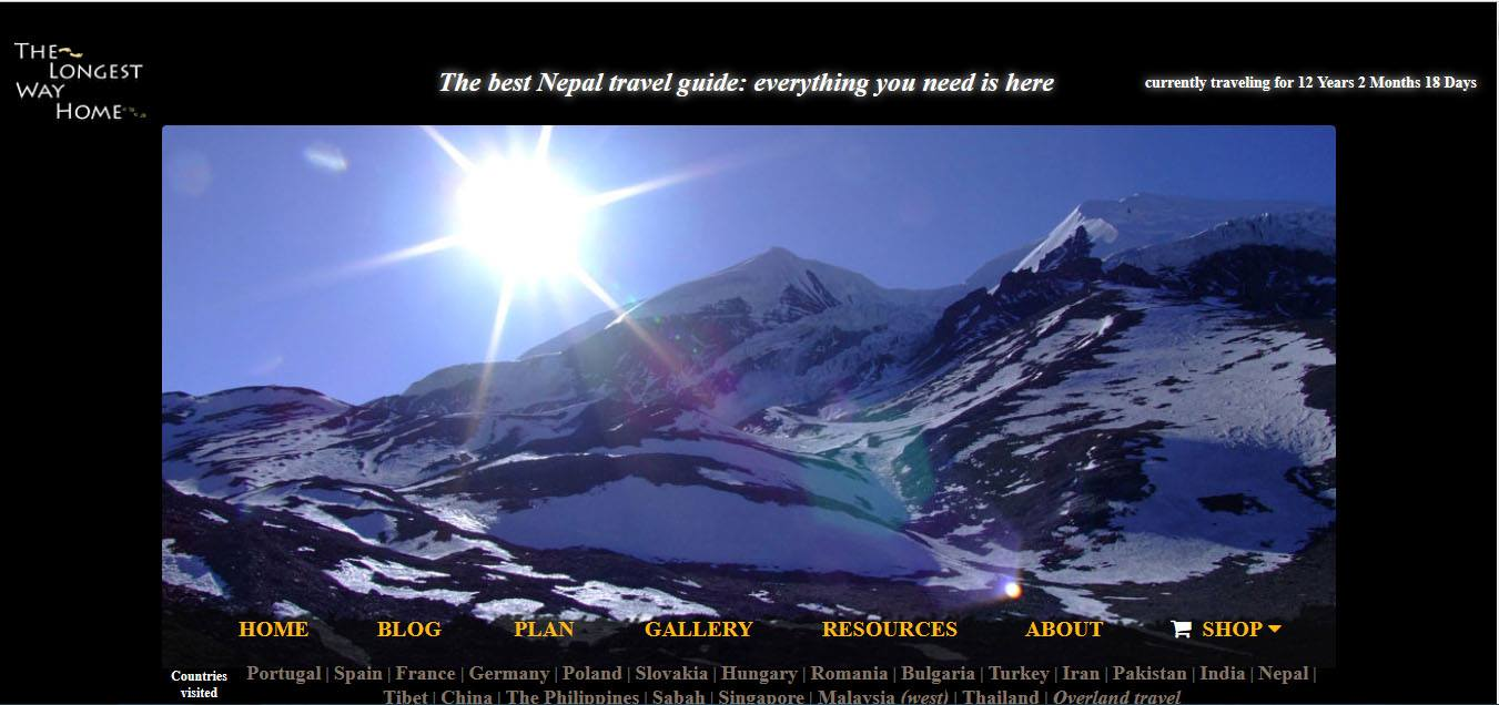 Best Blogs about Nepal