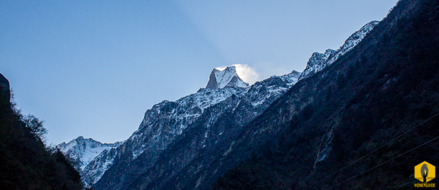 Fishtail from Dobhan, Himal's Image