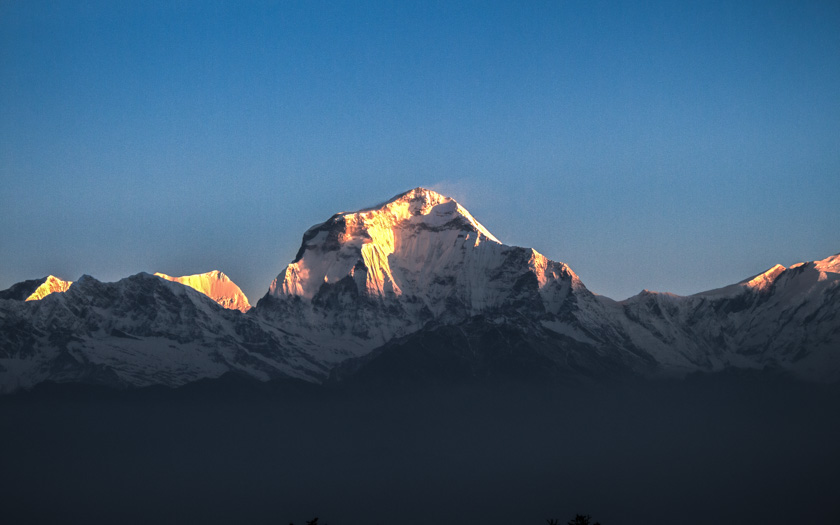 Dhaulagiri Mountain