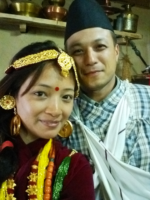 Traditional Gurung clothing