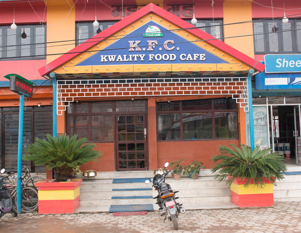 Kwality food Cafe in Nepal