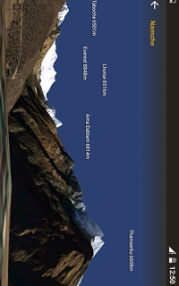 Everest Trek Guidebook App HoneyGuide Mountain Finder