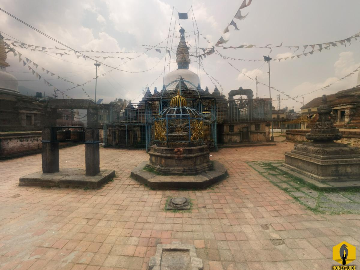 Chilancho Stupa also called Jagatpal Vihar is situated to the top of the hill of Kirtipur city at 1406m.