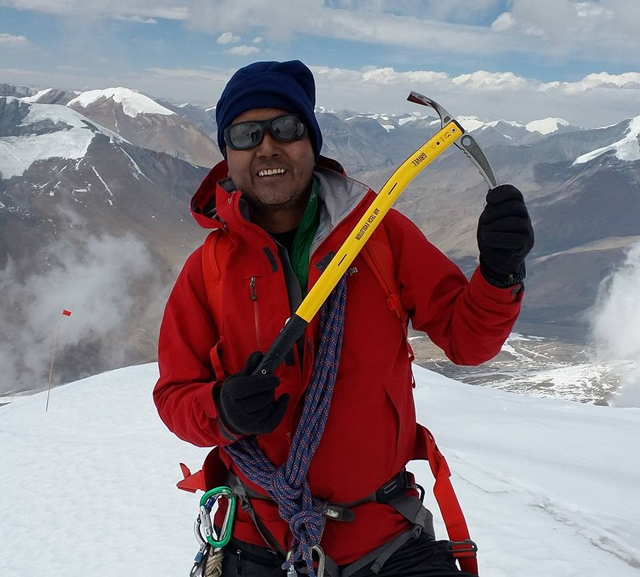 Pasang in his recent expedition to Dhaulagiri, one of the most challenging of the eight-thousanders.