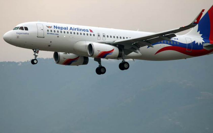Nepal Airline Airbus