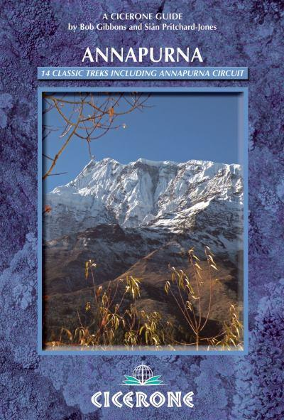 Cicerone guidebook for Annapurna, Nepal